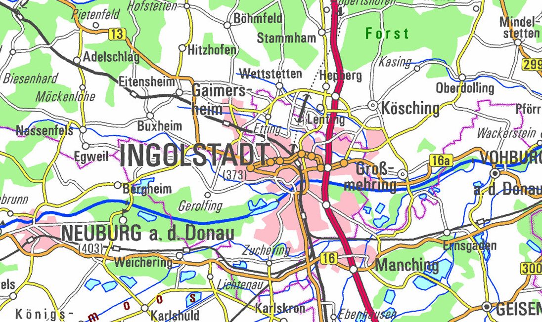 Bayerische Vermessungsverwaltung Produkte Weitere Geodaten