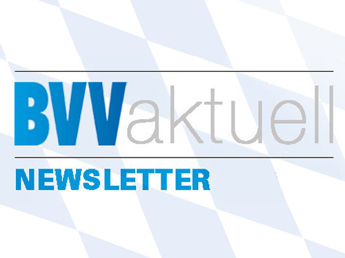 BVV aktuell - Newsletter