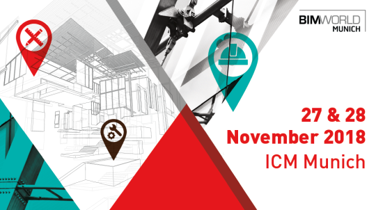 Banner BIM World MUNICH 2018